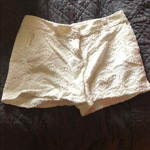 EUC white shorts